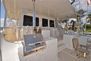 64' Out Island Trawler 2015 Aft Deck