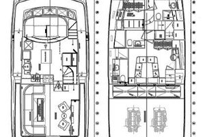 64' Out Island Trawler 2015 Layout