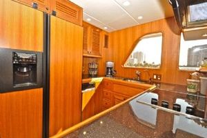64' Out Island Trawler 2015 Galley