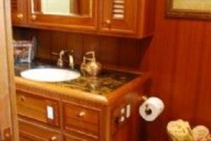 64' Out Island Trawler 2015 Master Stateroom Head