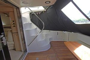 56' Sea Ray 560 Sedan Bridge 2000 Steps to Flybridge