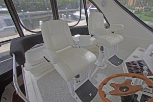 56' Sea Ray 560 Sedan Bridge 2000 Stidd Helm Chairs