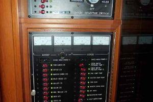 64' Grand Alaskan Pilothouse 2006 DC Electrical Panel