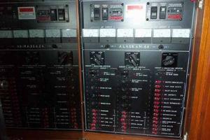 64' Grand Alaskan Pilothouse 2006 AC Electrical Panel