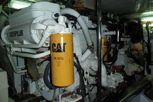 64' Grand Alaskan Pilothouse 2006 Port Engine