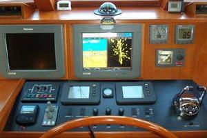 64' Grand Alaskan Pilothouse 2006 Helm Centerline