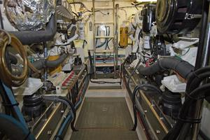 54' Offshore Pilothouse Hull #64 2005 Engine Room