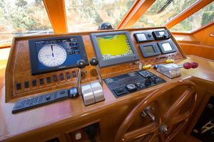 54' Offshore Pilothouse Hull #64 2005 Pilothouse Helm