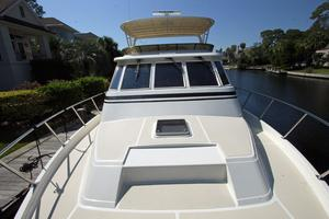 54' Offshore Pilothouse Hull #64 2005 Foredeck