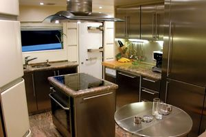 96' Bugari Full displacement RPH 2003 Galley