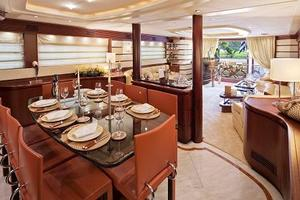 96' Bugari Full displacement RPH 2003 Formal Dining