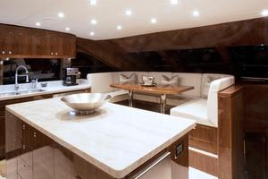 100' Hargrave Raised Pilothouse 2016 Galley