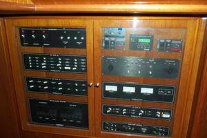 91' Tarrab Tri Deck MY 2012 Crew Electrical Panel