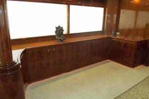 91' Tarrab Tri Deck MY 2012 Dining Area to Port