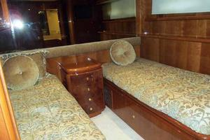 91' Tarrab Tri Deck MY 2012 Port Guest Cabin Looking Aft
