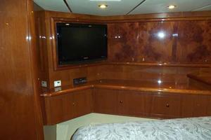 91' Tarrab Tri Deck MY 2012 VIP Looking Aft