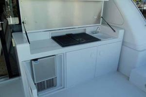91' Tarrab Tri Deck My 2012 Boat Deck Grill