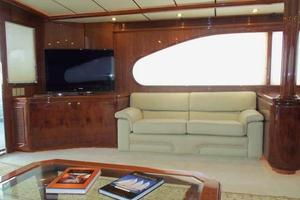 91' Tarrab Tri Deck MY 2012 Salon to Port