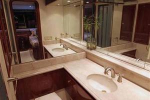 91' Tarrab Tri Deck My 2012 Starboard Guest Cabin Head
