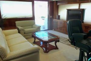 91' Tarrab Tri Deck MY 2012 Sky Lounge Looking Aft