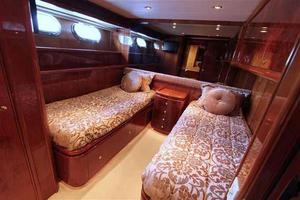 91' Tarrab Tri Deck My 2012 Starboard Guest Cabin