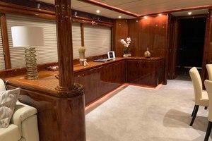 91' Tarrab Tri Deck My 2012 DiningAreatoPort
