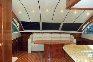91' Tarrab Tri Deck MY 2012 Country Kitchen Settee