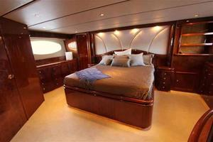 91' Tarrab Tri Deck MY 2012 Master Looking Aft