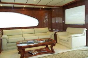 91' Tarrab Tri Deck MY 2012 Salon to Starboard