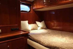 91' Tarrab Tri Deck MY 2012 Captain's Cabin