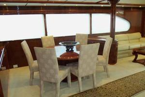 91' Tarrab Tri Deck MY 2012 Dining Area