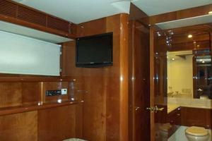 91' Tarrab Tri Deck MY 2012 Port Guest Cabin Looking Forward