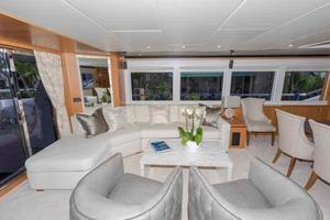 93' Johnson Rph W/on-deck Master 2017 Salon aft to port