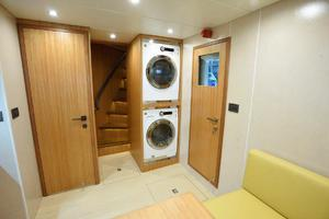 93' Johnson Rph W/on-deck Master 2017 Laundry in Crew Lounge