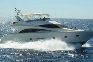 65' Marquis Flybridge 2006 SISTER SHIP AT SEA