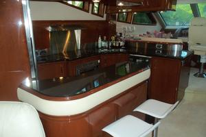 65' Marquis Flybridge 2006 GALLEY LOOKING FORWARD