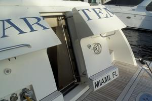 65' Marquis Flybridge 2006 CREW/ENGINE ROOM ACCESS DOOR