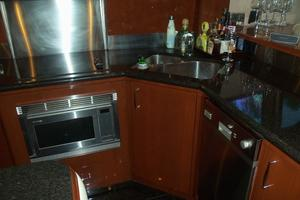 65' Marquis Flybridge 2006 GALLEY LOOKING STARBOARD