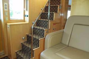 75' Hatteras Motoryacht 2002 HELM STATION
