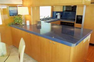 75' Hatteras Motoryacht 2002 GALLEY