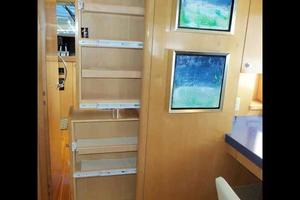 75' Hatteras Motoryacht 2002 GALLEY PANTRY