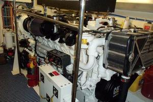75' Hatteras Motoryacht 2002 PORT ENGINE