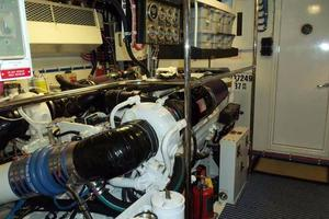 75' Hatteras Motoryacht 2002 CUSTOM ENGINE ROOM SEALING