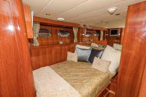 87' Johnson Flybridge w/Euro Transom 2005 Starboard Side Cabin