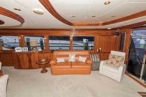 87' Johnson Flybridge w/Euro Transom 2005 Salon to Starboard
