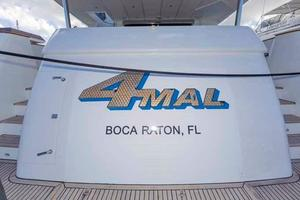 87' Johnson Flybridge w/Euro Transom 2005 Transom