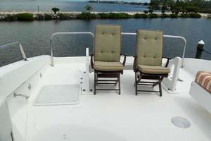 76' Lazzara Grand Salon/Skylounge 1998 Boat Deck Seating