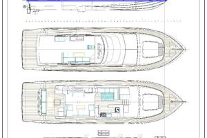 70' Johnson Flybridge Motor Yacht 2019 GA  ( One of several layout plans available )