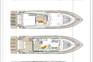 83' Johnson Skylounge w/Hydraulic Platform 2020 GA (One of several layout plans available)