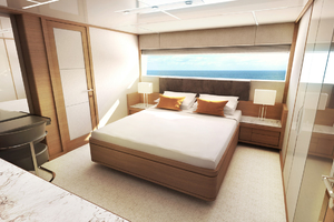 115' Johnson SKYLOUNGE w/FB w/ON-DECK MASTER 2020 Guest Stateroom